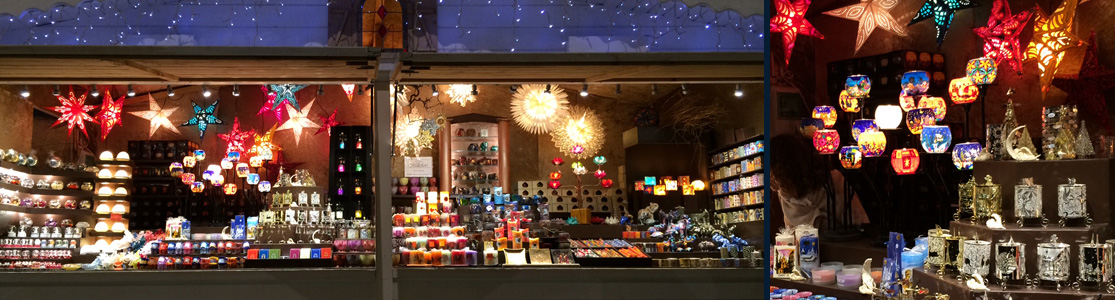 Paris Weihnachtsmarkt.Christmas Market Candles Windlights Gifts Casa Millefiori