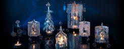Manège lumineux décoré Precious metal