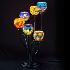 Millefiori Lampe