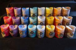 Bougies parfumées Artisanale V-Top